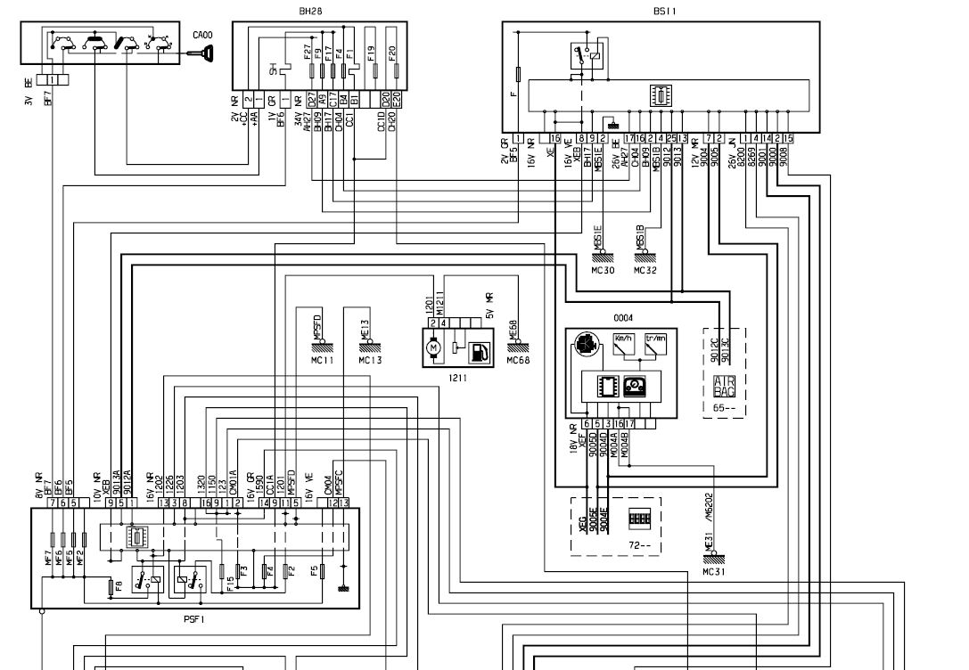 citroen c5 fuse box layout   26 wiring diagram images